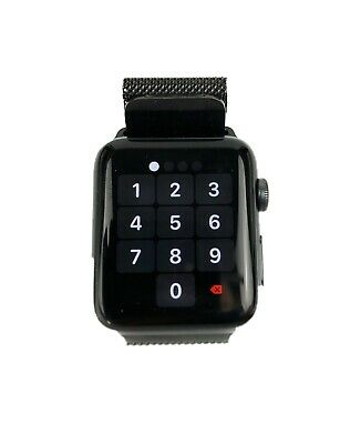 $ CDN237.46 • Buy Apple Watch Series 3 MQL12CN/A Space Grey 42 Mm Case (Model A1859)