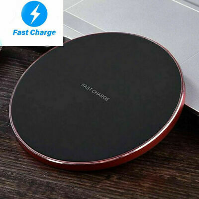 $ CDN17.52 • Buy Qi Fast Wireless Charger Luxury Charging Pad For Apple IPhone 12 11 Pro XS Max X