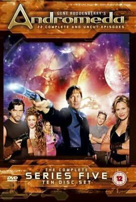 Andromeda - The Complete Series Five (NEW AND SEALED 10-Disc DVD Box Set) (L23) • 29.99£