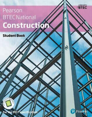 £38.44 • Buy BTEC Nationals Construction Student Book + Activebook: For The 2017