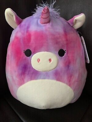 $ CDN29.99 • Buy NWT Squishmallows Plushy Super Soft And Cuddly Pink Purple Unicorn NEW
