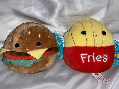 $ CDN85 • Buy 5  SQUISHMALLOWS - Burgee(Carl) And Fries(Floyd) RARE Claire's Exclusive!!