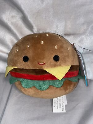 $ CDN40 • Buy 5  SQUISHMALLOWS - Carl The Cheeseburger (RARE/HTF Claire's Exclusive!!)