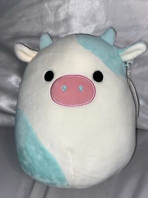$ CDN110 • Buy 8  SQUISHMALLOWS - Belana The Blue Cow (RARE/HTF Easter Exclusive!!)