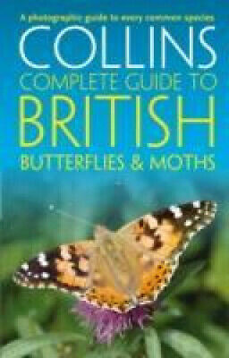 £14.35 • Buy British Butterflies And Moths (Collins Complete Guides) (Collins Complete