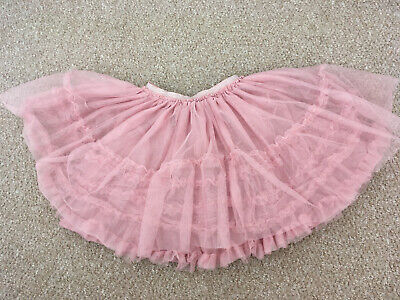 Nude Pink Party Tutu Skirt For Girls  • 3£