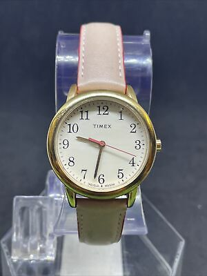 $ CDN1.26 • Buy Timex Women's Tw2r62800 Rose Gold Pink Leather Watch #50
