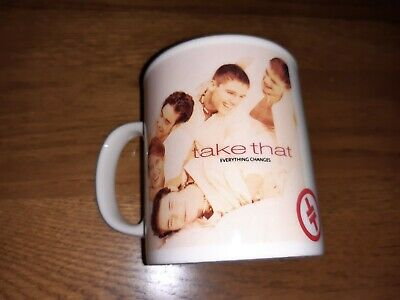 £19.99 • Buy Take That Mug From 1994 Official Everything Changes Tour Exc Cond Gary Barlow