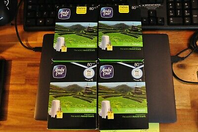 £10 • Buy New Ambi Pur Air Freshener Scent Diffuser Plugs X4 For Single Refills Plugs Only