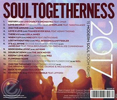 £12.14 • Buy Soul Togetherness 2017 / Various By VARIOUS ARTISTS