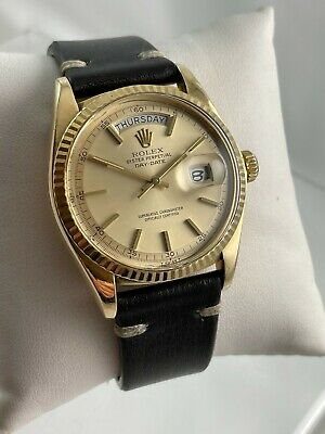 $ CDN10576.69 • Buy Vintage 1976 Rolex Oyster Perpetual Day-Date 1803 18K Yellow Gold Wristwatch