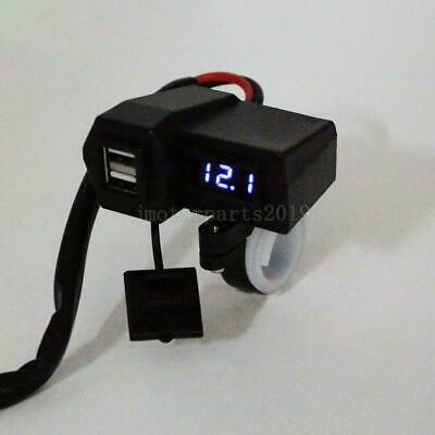 $19.80 • Buy LED Voltmeter USB Charger For Suzuki Intruder Volusia VL 700 750 800 1400 1500