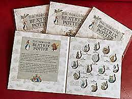 2016-2020 Beatrix Potter 50p Fifty Pence Coin Album Folder Collecting • 9.59£
