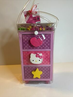£21.06 • Buy Hello Kitty Jewelry Chest Box With Beads & Charms