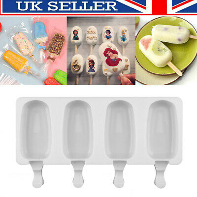 £4.79 • Buy Silicone Peppa Pig Ice Cream Cake Mold Chocolate Lolly Candy Baking Frozen Mould