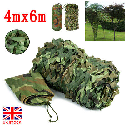 UK IUNIO Sea Blue Camouflage Net Camping Garden Shooting Hide Hunting Military