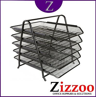 £12.95 • Buy Osco Mesh Letter Trays In Either 5 Tier Or 3 Tier By Osco