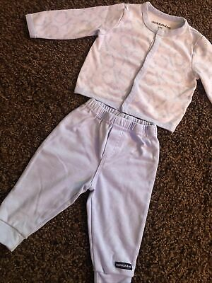 Calvin Klein Baby Blue Outfit/suit Size 6-9 Months  • 19.99£