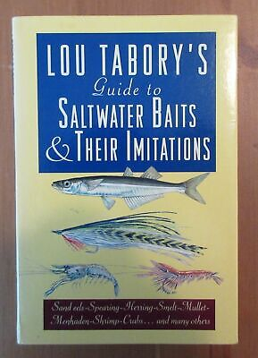 £7.18 • Buy Fishing Book SIGNED SALTWATER BAIT Tabory