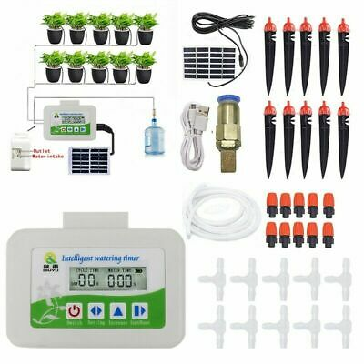 £42.99 • Buy Solar Automatic Watering Device Smart Irrigation Timer Water Pump Garden Plant