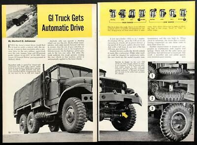 $8.99 • Buy GMC M135 Series 2 1/2-ton 6x6 US Army Truck 1951 Pictorial