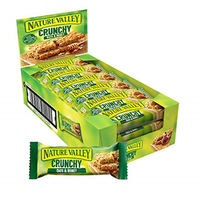 £15.73 • Buy Nature Valley Crunchy Oats & Honey Cereal Bars 18 X 42g
