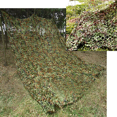 Oxford Fabric Camouflage Net/Camo Netting Hunting/Shooting Hide Army 3m 4m 7.5m • 15.99£