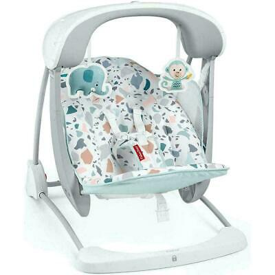 £81.27 • Buy Fisher-Price Terrazzo Take-Along Swing & Seat 2-in-1, Soothing & Calming, Infant