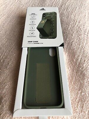 AU27.03 • Buy Brand New: Adidas IPhone X Grip Case Green, Camouflage