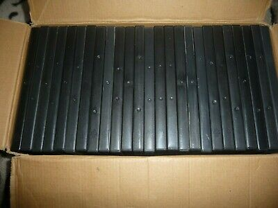 £7 • Buy 25 Empty Black Single DVD Cases Used Good Condition
