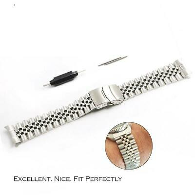 $ CDN38.26 • Buy Watch Band Strap Curved Hollow End 20 22mm Solid Screw Links For Seiko SKX007