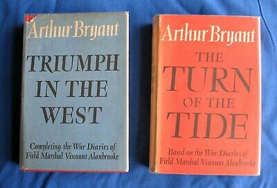 £9 • Buy Arthur Bryant: Turn Of The Tide And Triumph In The West. Collins 1st Editions