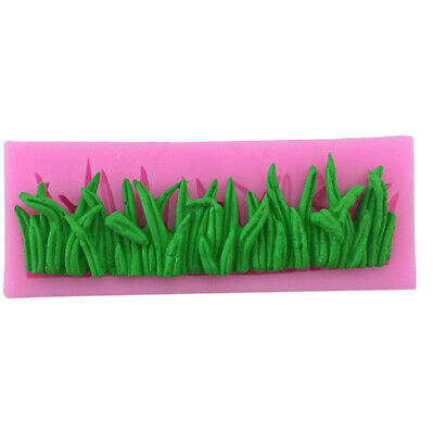 Grass Flowers Garden Silicone Cake Mold Baking Decorate Mould Party 3D Topper • 3.99£