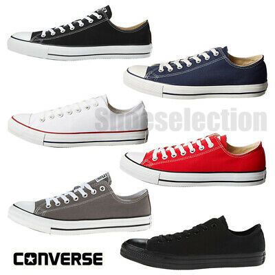 $59.95 • Buy Converse CHUCK TAYLOR All Star Low Top Unisex Canvas Shoes Sneakers NEW