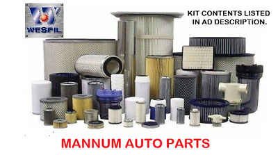 AU84.95 • Buy Nissan Terrano Ii Td27t 2.7ltr Turbo Diesel Engine Filter Kit - Oil/air/fuel
