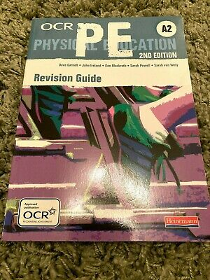£2 • Buy OCR A2 PE Revision Guide By Sarah Powell, John Ireland, Sarah Van Wely, Dave...