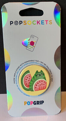 AU12 • Buy New Popsockets Catermelon Cat Watermelon Phone Grip Stand Glossy Cute Fruit
