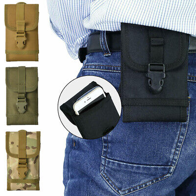 $7.98 • Buy Tactical Army Military Molle Pouch Cell Phone Pocket Case Waist Pack Belt Bag US