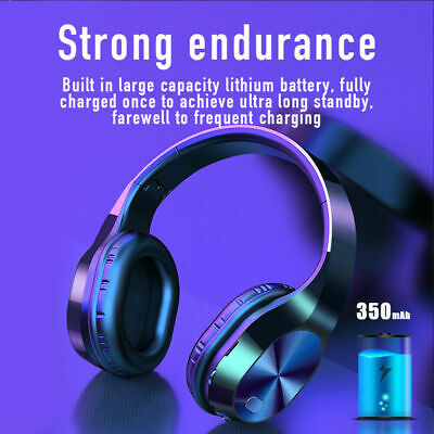 $ CDN20.44 • Buy Wireless Stereo Headphones Foldable For TV Watching With Bluetooth Transmitter