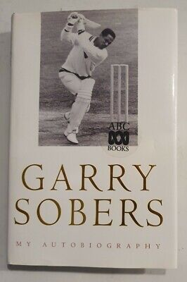 AU150 • Buy Very Rare Sir Garfield Sobers Cricket Signed In Person Autobiography Garry Gary