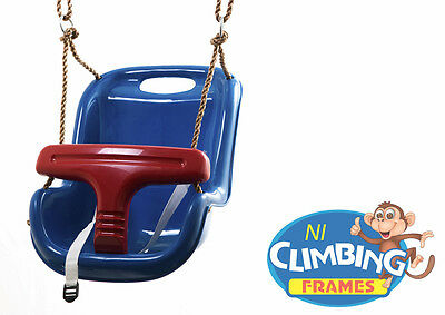 £23.99 • Buy BLUE Baby Toddler Deluxe Swing Seat Climbing Frame Set Tree Jungle Gym VALUE
