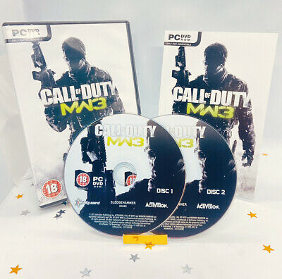 Call Of Duty Modern Warfare 3 (PC) Game Near Mint Complete Super Fast Delivery! • 8.99£