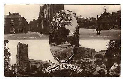 £10 • Buy Kirkby Lonsdale - Multiview Real Photo Postcard 1908