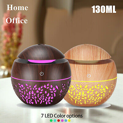 AU7.99 • Buy Aromatherapy Diffuser 7Color LED Aroma Essential Oil Air Humidifier 130ml