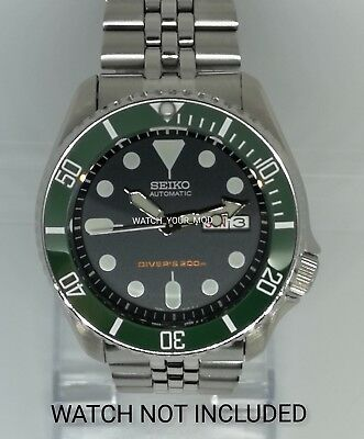 $ CDN43.01 • Buy Ceramic Bezel Insert For Seiko 5KX SRPD SKX007 009 Tea Green Scratch Resistant