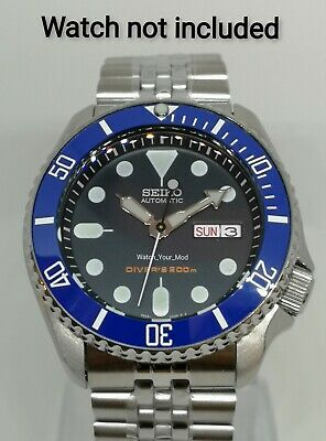 $ CDN43.01 • Buy Ceramic Bezel Insert For Seiko 5KX SRPD SKX007 009 Blue Scratch Resistant