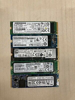 $ CDN175 • Buy (LOT OF QTY 5) 256GB M.2 PCIe NVMe SSD *VARIOUS TOP TIER BRANDS* HARD DRIVES