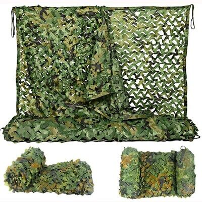 Camo Net Camouflage Netting Hunting/Shooting Hide Army Camping Woodland Netting • 11.99£