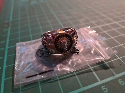 £6 • Buy Indian Head Ring Size 10 (925)