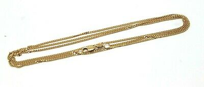 AU350.55 • Buy  9ct Yellow Gold Kerb Curb Chain Necklace 70cm 4.04 Grams - Free Express Post